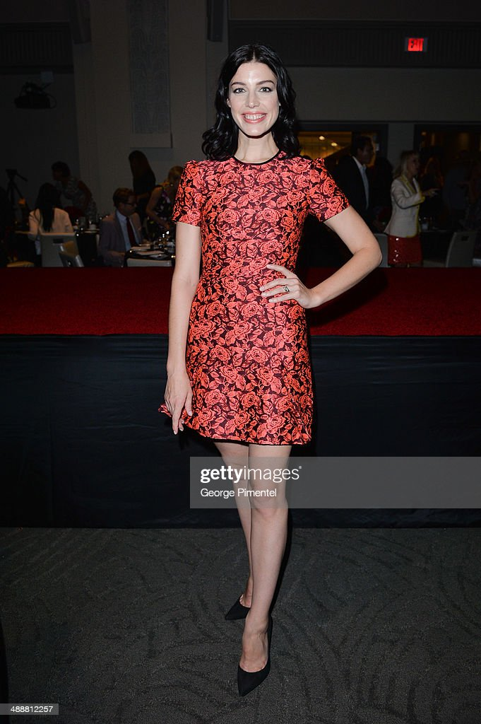 Jessica Parre attends the Believe In Fashion Presents Erdem at Arcadian Court on May 8, 2014 in Toronto, Canada.