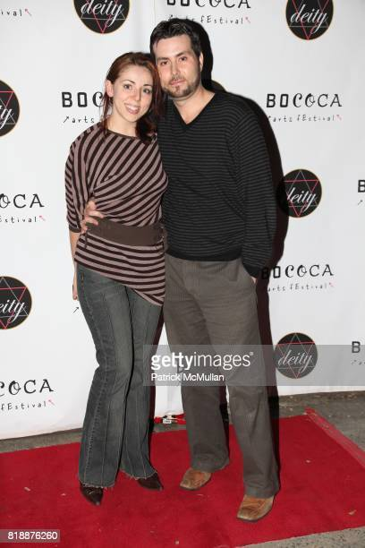 Jessica Pichardo and Steve Hornbeck attend Celebration for upcoming 2nd season of the BoCoCa Arts Festival at Deity Supperclub Brooklyn on April 27...