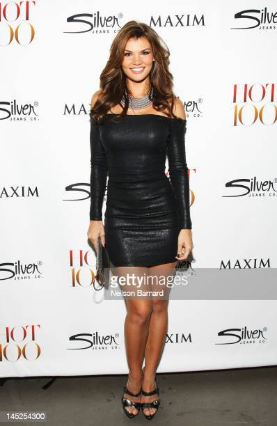 Jessica Rafalowski attends the Maxim Hot 100 on May 24 2012 in New York City