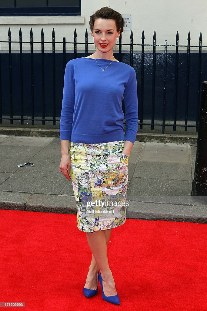 Jessica Raine attends the press night for 'Charlie and the Chocolate Factory' at Theatre Royal on June 25, 2013 in London, England.