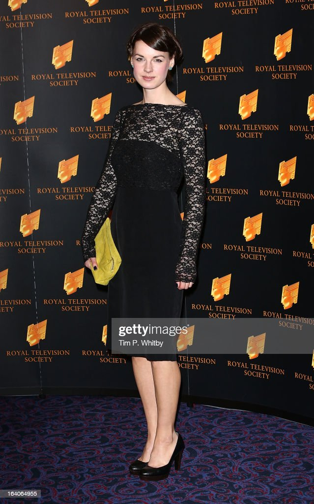 Jessica Raine attends the RTS Programme Awards at Grosvenor House, on March 19, 2013 in London, England.