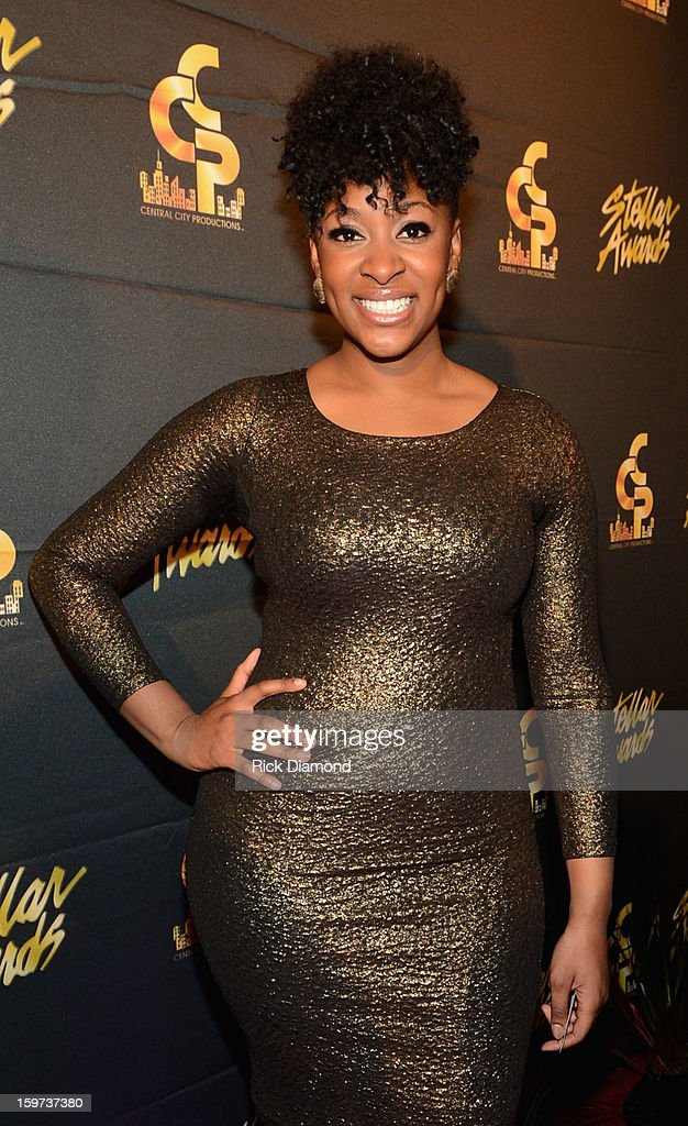 Jessica Reedy arrives at the 28th Annual Stellar Awards at Grand Ole Opry House on January 19, 2013 in Nashville, Tennessee.
