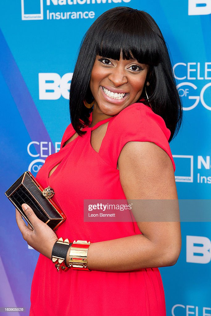 Jessica Reedy arrives at the BET Network's 13th Annual 'Celebration of Gospel' at Orpheum Theatre on March 16, 2013 in Los Angeles, California.