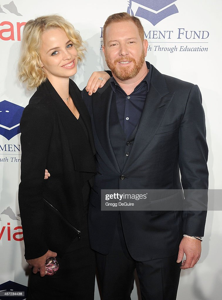Jessica Roffey and Ryan Kavanaugh arrive at the 20th Annual Fulfillment Fund Stars Benefit Gala at The Beverly Hilton Hotel on October 14, 2014 in Beverly Hills, California.