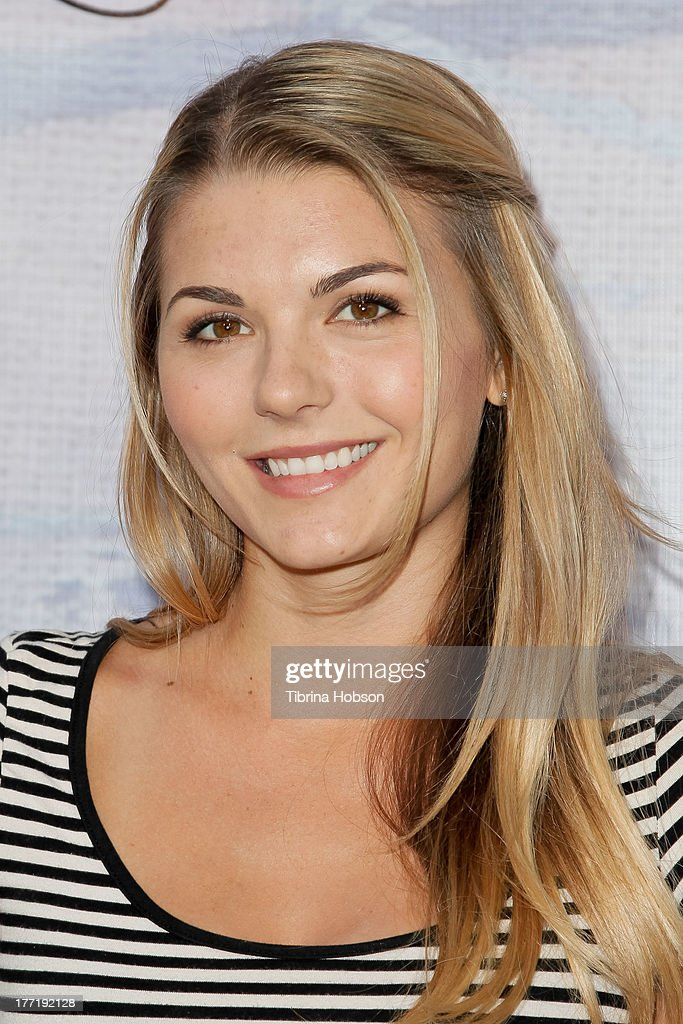 Jessica Rose attends the artist's reception for Billy Zane's solo art exhibition 'Seize The Day Bed' on August 21, 2013 in Los Angeles, California.