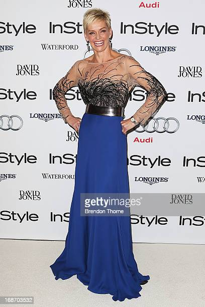 Jessica Rowe arrives at the 2013 Instyle and Audi Women of Style Awards at Carriageworks on May 14 2013 in Sydney Australia