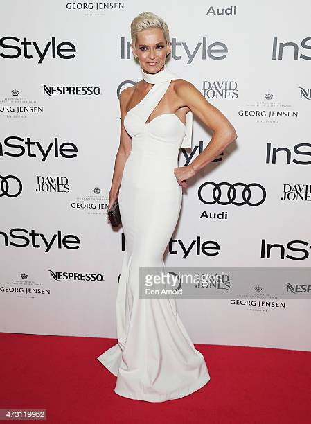 Jessica Rowe arrives at the 2015 Women of Style Awards at Carriageworks on May 13 2015 in Sydney Australia