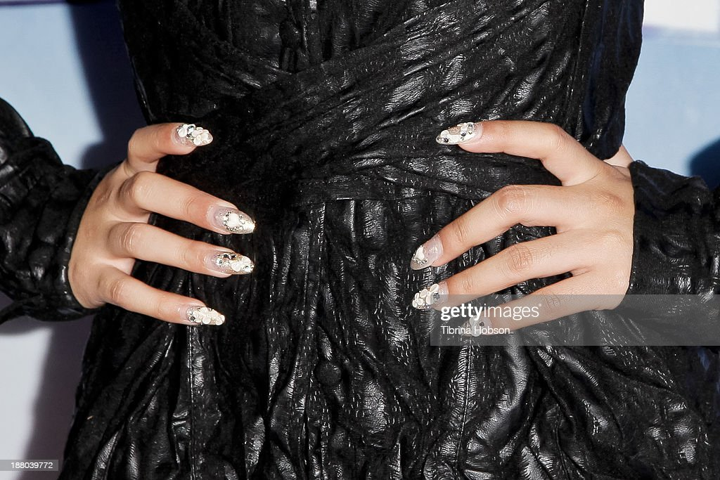 <a gi-track='captionPersonalityLinkClicked' href=/galleries/search?phrase=Jessica+Sanchez&family=editorial&specificpeople=4373400 ng-click='$event.stopPropagation()'>Jessica Sanchez</a> attends the tree lighting ceremony at Hollywood & Highland Center on November 14, 2013 in Hollywood, California.