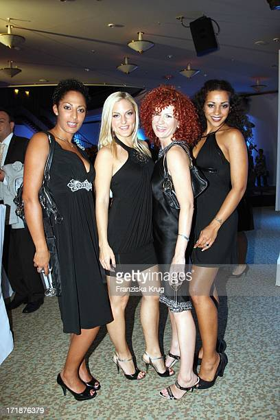 Jessica Sandy Nadja Lucy from The No Angels In The IFA Opening Gala at the Palais am Funkturm in Berlin
