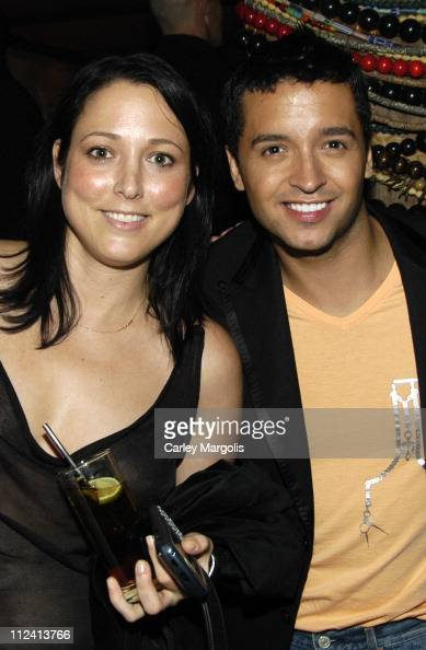 Jessica Schimmel of InTouch Jai Rodriguez during Cain Celebrates its 1st Anniversary at Cain in New York City New York United States
