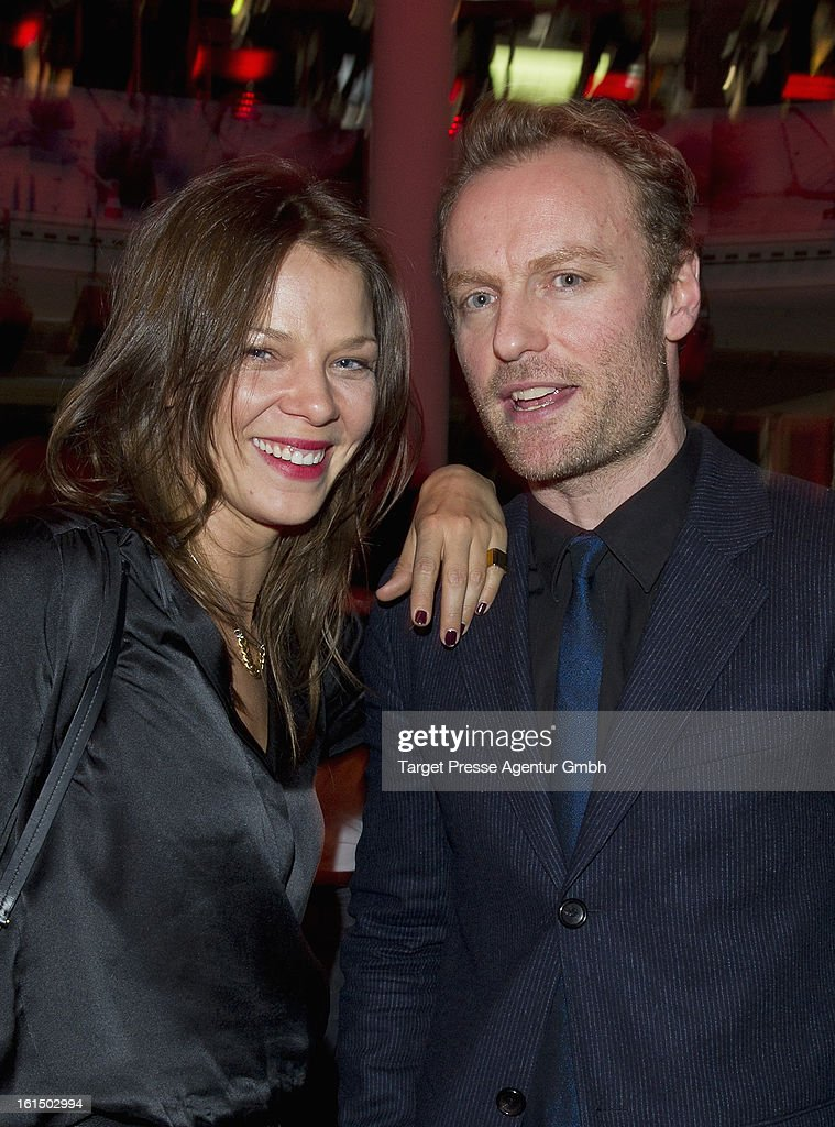 <a gi-track='captionPersonalityLinkClicked' href=/galleries/search?phrase=Jessica+Schwarz&family=editorial&specificpeople=212905 ng-click='$event.stopPropagation()'>Jessica Schwarz</a> and Mark Waschke attend the BMW aftershow party of the 'Deutscher Schauspielerpreis' during the 63rd Berlinale International Film Festivalon February 11, 2013 in Berlin, Germany.