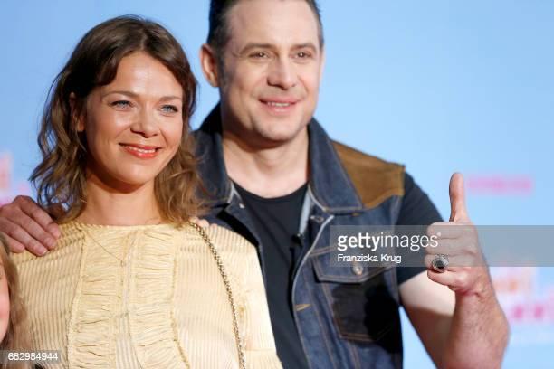 Jessica Schwarz and Sascha Vollmer during the premiere of the film 'Hanni Nanni Mehr als beste Freunde' at Kino in der Kulturbrauerei on May 14 2017...