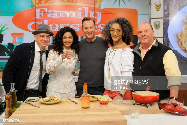 THE CHEW Jessica Seinfeld and Camilla Alves are the guests today Tuesday April 25 2017 on ABC's 'The Chew' 'The Chew' airs MONDAY FRIDAY on the ABC...