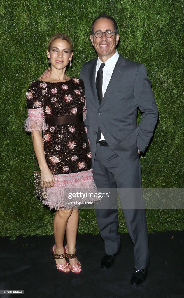 Jessica Seinfeld and comedian Jerry Seinfeld attends the 2017 Museum of Modern Art Film Benefit Tribute to Julianne Moore at Museum of Modern Art on November 13, 2017 in New York City.