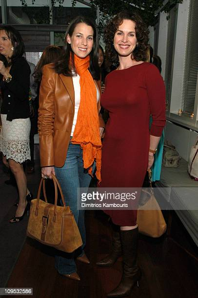 Jessica Seinfeld and Elizabeth Vargas during Liz Lange's Maternity Style How to Look Fabulous During the Most Fashion Challenged Time Book Party at...