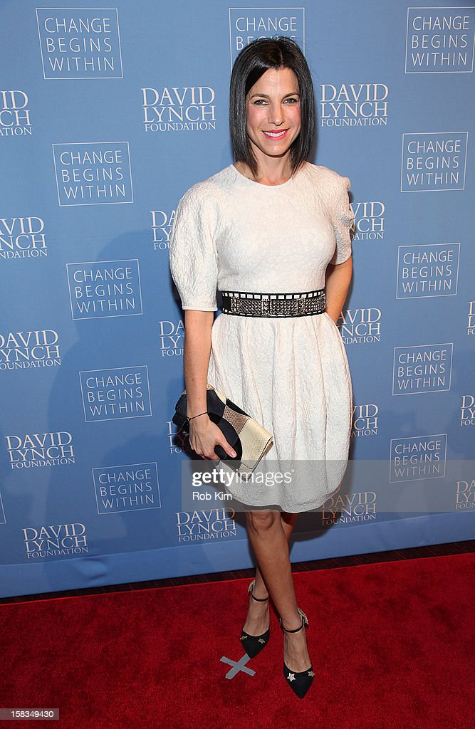 Jessica Seinfeld attends 'An Intimate Night of Jazz' hosted by The David Lynch Foundation at Frederick P. Rose Hall, Jazz at Lincoln Center on December 13, 2012 in New York City.