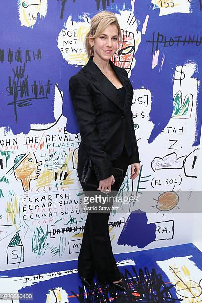 Jessica Seinfeld attends the alice olivia x Basquiat CFDA Capsule Collection launch party on November 2 2016 in New York City