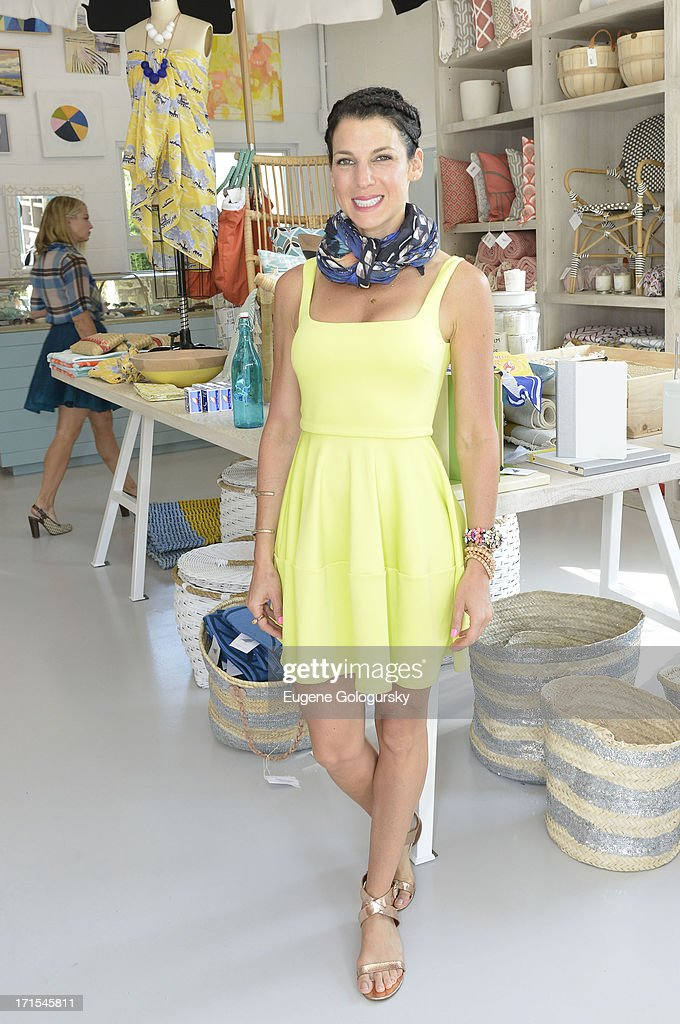 Jessica Seinfeld attends the Serena & Lily Host Private Shopping Event to Benefit Baby Buggy at Its Hamptons Store on June 26, 2013 in Wainscott, New York.