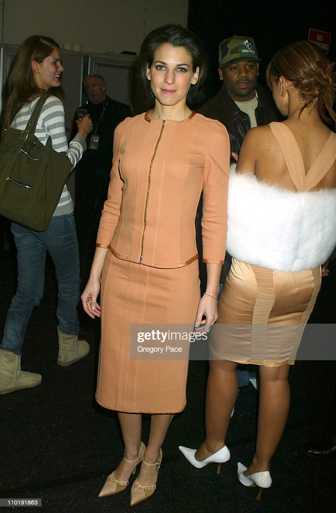 Olympus Fashion Week Fall 2004 - Narciso Rodriguez - Front Row and Backstage