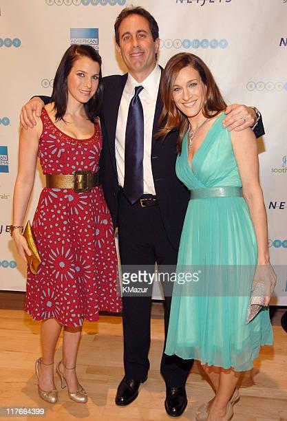 Jessica Seinfeld Jerry Seinfeld and Sarah Jessica Parker