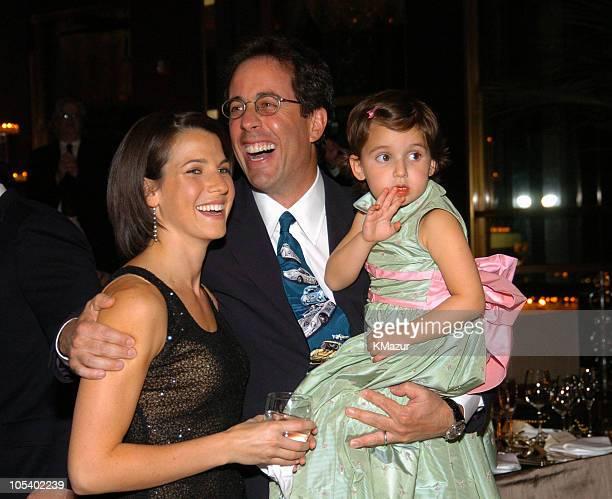 Jessica Seinfeld Jerry Seinfeld and Sascha Seinfeld