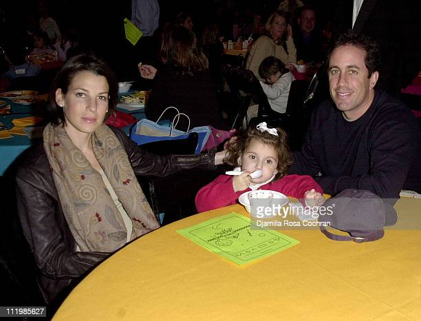 Jessica Seinfeld Sascha Seinfeld and Jerry Seinfeld
