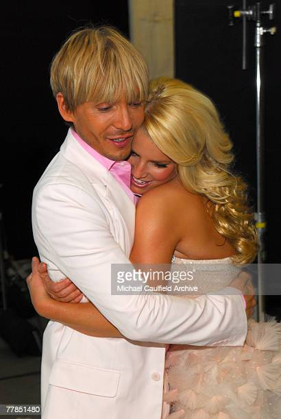 Jessica Simpson and Ken Paves NO TABLOIDS OR MEN'S INTEREST PUBLICATIONS RESTRICTED