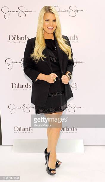 Jessica Simpson appears at Dillard's Lakeside Shopping Plaza on October 8 2011 in New Orleans Louisiana