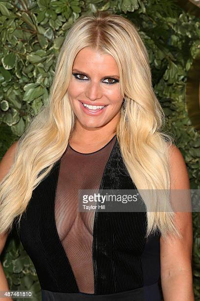 Jessica Simpson attends Jessica Simpson Collection Presentation Spring 2016 New York Fashion Week at Tavern on the Green on September 9 2015 in New...