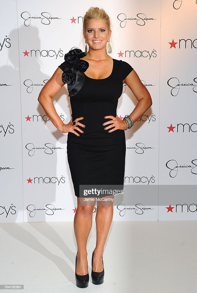 Jessica Simpson celebrates the Find Your Magic at Macy's Jessica Simpson Collection in-store event at Macy's Herald Square on September 15, 2010 in New York City.