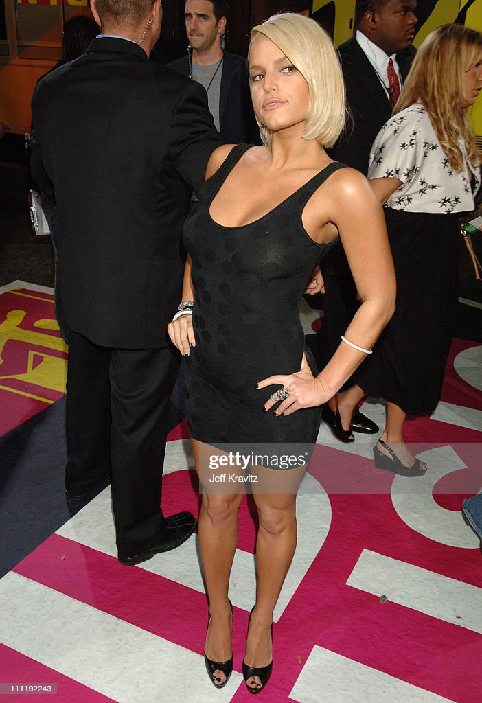 Jessica Simpson during 2006 MTV Video Music Awards Red Carpet at Radio City Music Hall in New York City New York United States