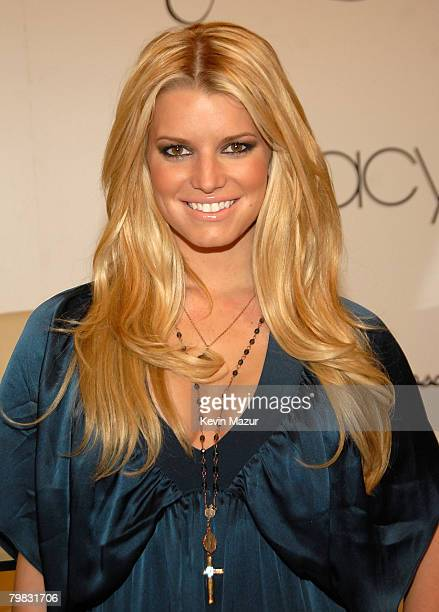 Jessica Simpson introduces 'Jessica Simpson Collection' at Macy's Herald Square on November 3 2007 in New York City