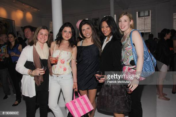 Jessica Sobel Janel Molton Wallis Dolan Athena Liu and Maitland Lachman attend PYT Pretty Young Thing cocurated by Anne Huntington Diana Campbell at...
