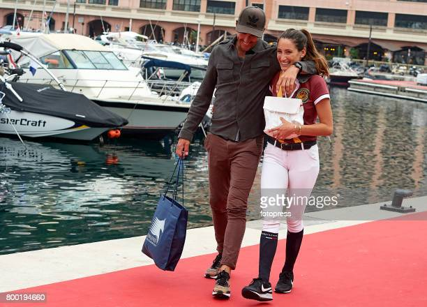 Jessica Springsteen And Nic Roldan Attend Global Champions Tour Of Picture Id S X