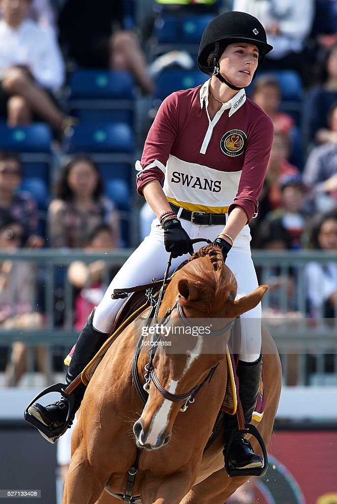 Jessica Springsteen attends the Global Champions Tour of Shanghai at China Art Palace on May 01, 2016 in Shanghai, China.