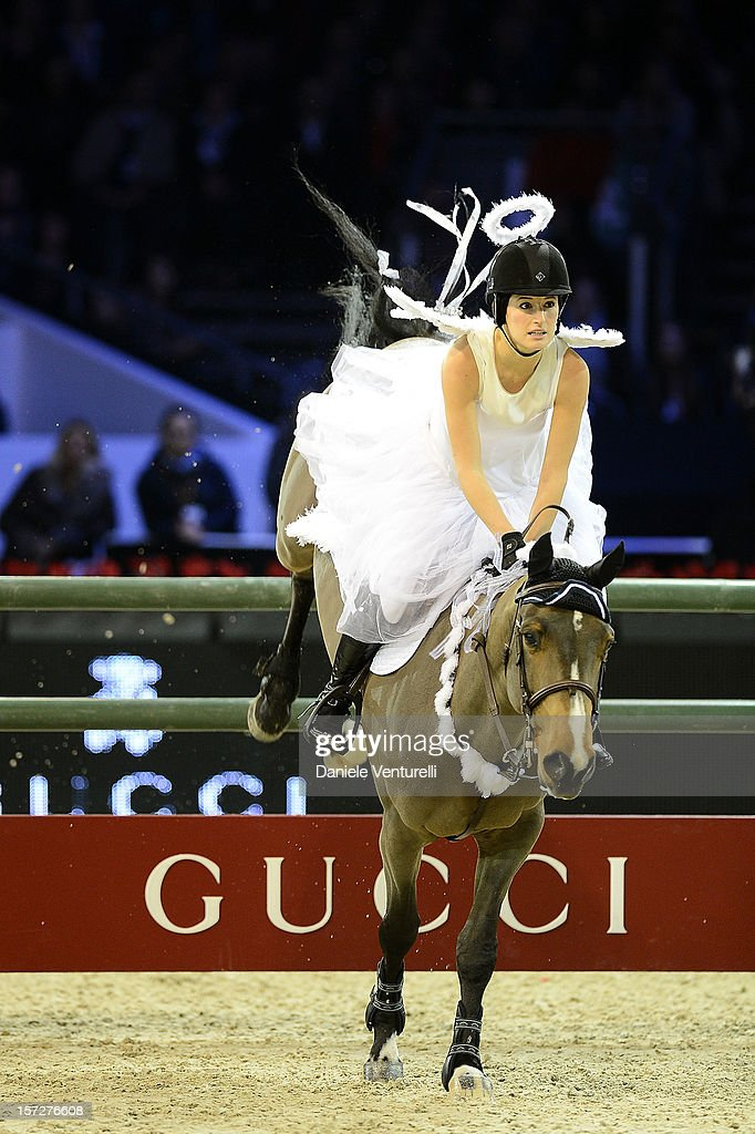 Jessica Springsteen attends the Gucci Paris Masters 2012 at Paris Nord Villepinte on December 1, 2012 in Paris, France.