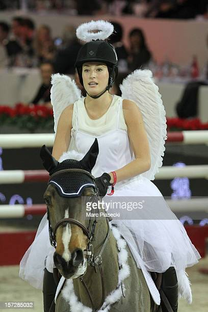 Jessica Springsteen attends the 'Gucci Paris Masters 2012' at Paris Nord Villepinte on December 1 2012 in Paris France