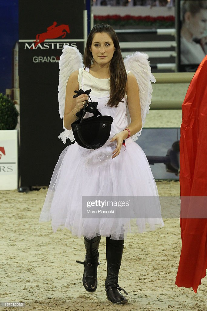 Jessica Springsteen attends the 'Gucci Paris Masters 2012' at Paris Nord Villepinte on December 1, 2012 in Paris, France.