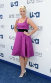 Jessica St Clair attends the USA Network 2013 Upfront event at Pier 36 on May 16 2013 in New York City