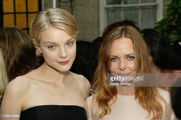 Jessica Stam and Stella McCartney attend the Stella McCartney Spring 2014 Collection Presentation at West 10th Street on June 10 2013 in New York City