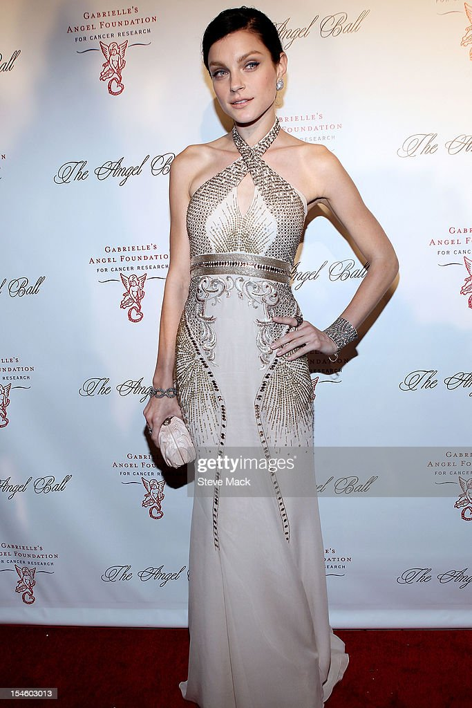 Jessica Stam at Cipriani Wall Street on October 22, 2012 in New York City.