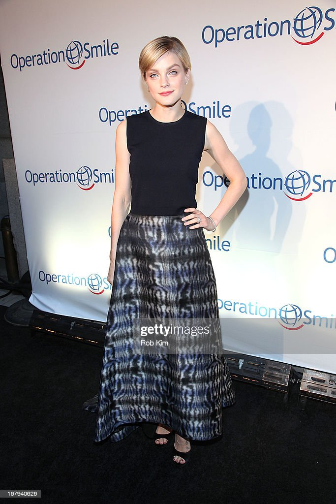 Jessica Stam attends Operation Smile 30th Anniversary Celebration at Cipriani 42nd Street on May 2, 2013 in New York City.