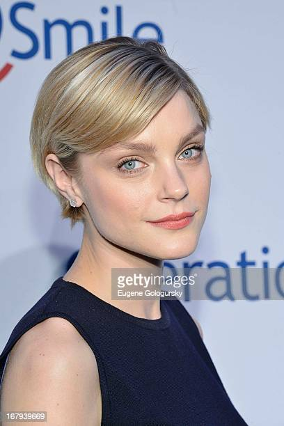Jessica Stam attends Operation Smile's 30th anniversary celebration at Cipriani 42nd Street on May 2 2013 in New York City