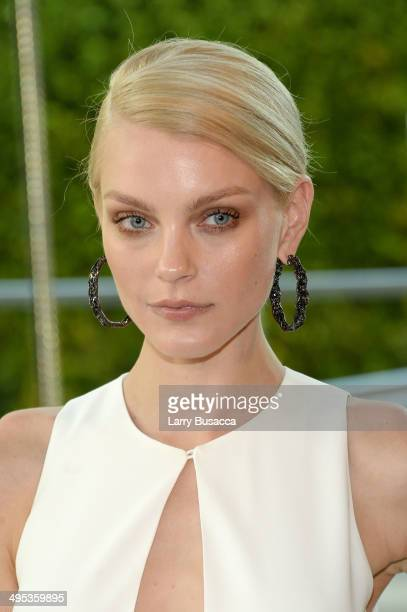 Jessica Stam attends the 2014 CFDA fashion awards at Alice Tully Hall Lincoln Center on June 2 2014 in New York City