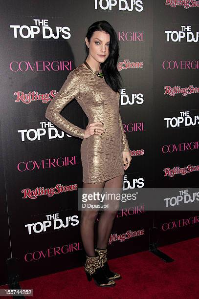 Jessica Stam attends the Rolling Stone Cover Girl Top DJ's event at TAO on November 7 2012 in New York City