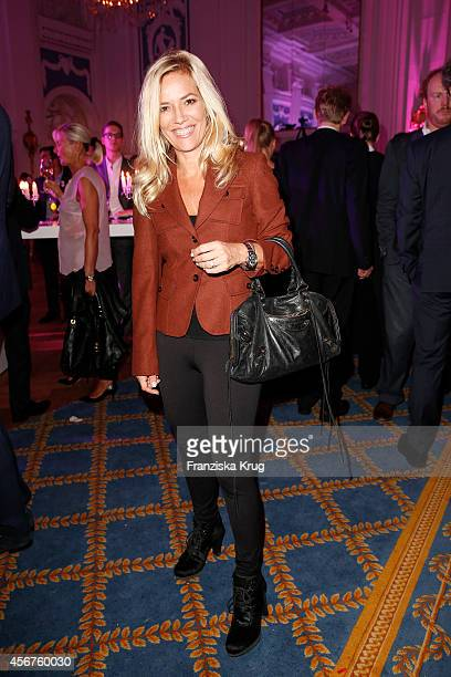 Jessica Stockmann attend the Media Entertainment Night 2014 at Atlantik Hotel on October 06 2014 in Hamburg Germany