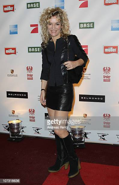 Jessica Stockmann attends the 'Movie meets Media' Night at Hotel Atlantic on December 3 2010 in Hamburg Germany