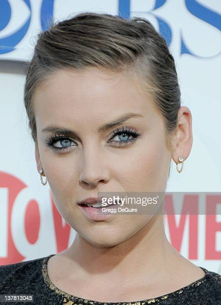 Jessica Stroup arrives at the CBS The CW Showtime Summer Press Tour Party held at The Tent on July 28 2010 in Beverly Hills California