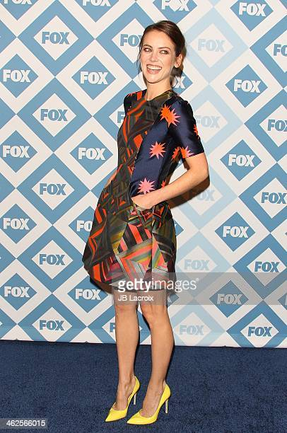 Jessica Stroup attends the 2014 TCA Winter Press Tour FOX AllStar Party held at The Langham Huntington Hotel and Spa on January 13 2014 in Pasadena...