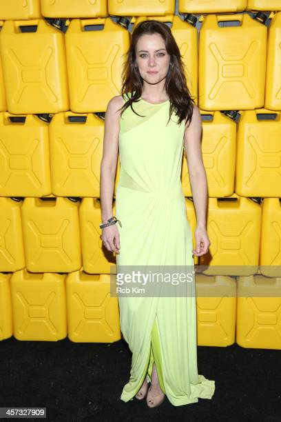 Jessica Stroup attends the 8th annual charity ball Gala at the Duggal Greenhouse on December 16 2013 in the Brooklyn borough of New York City